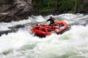 White water rafting Clearwater